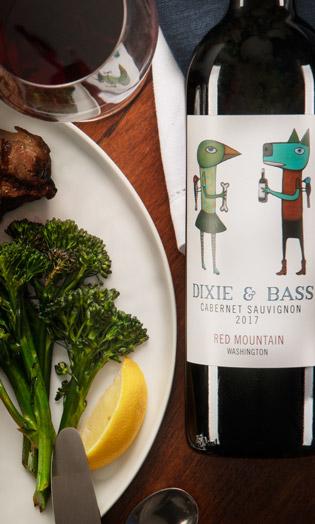 Dixie & Bass 2017 Cabernet Sauvignon