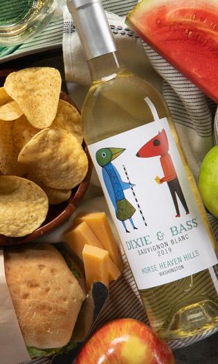 Dixie & Bass 2019 Sauvignon Blanc