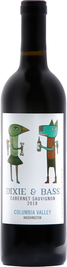 Dixie and Bass 2018 Cabernet Sauvignon - Red Mountain Wines - Aquilini Family Wines