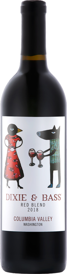 Dixie and Bass 2018 Red Blend - Columbia Valley Wines - Aquilini Family Wines