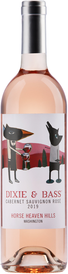 Dixie and Bass 2019 Cabernet Sauvignon Rose - Horse Heaven Hills - Aquilini Family Wines