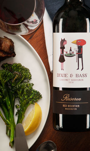 Dixie and Bass 2018 Cabernet Sauvignon Reserve - Related Wines - Aquilini Wines