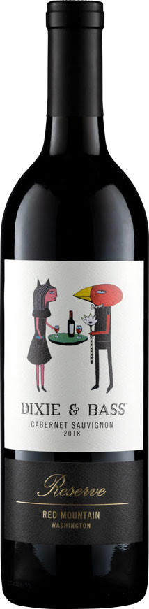 Dixie and Bass - Cabernet Sauvignon Reserve - Aquilini Wines